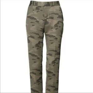 New Banana Republic Ryan Olive Camo Pants 4S